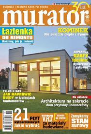 Artykuł ten jest fragmentem materiału z miesięcznika Murator 10/2013