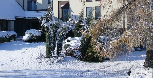 Groźny śnieg i mróz