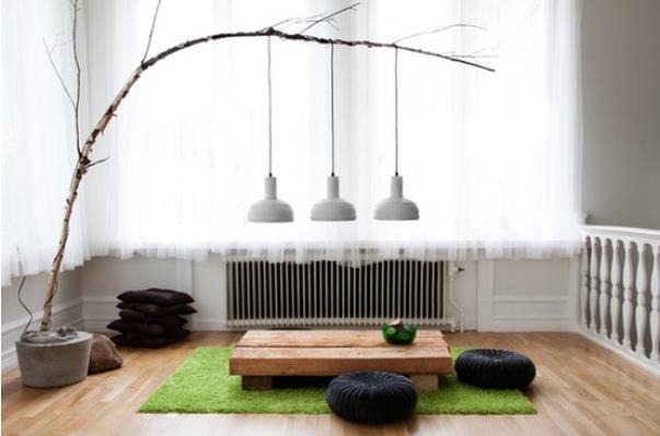 Drzewo w domu - zdjęcia aranżacji wnętrz