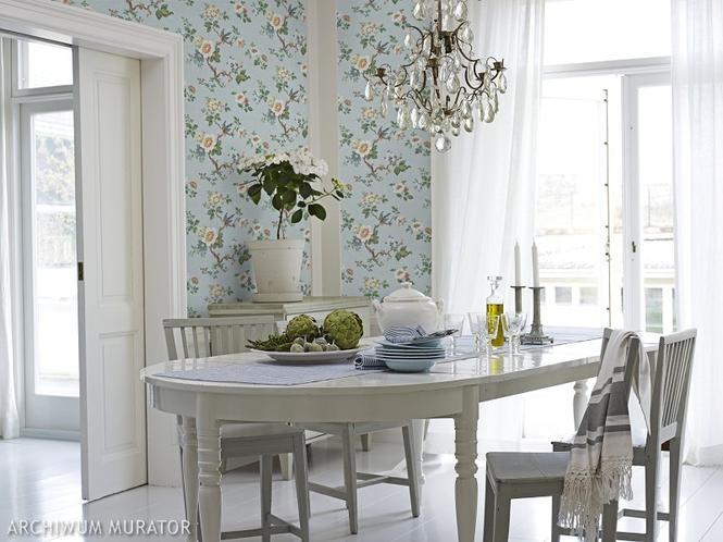 Salon w stylu romantycznym