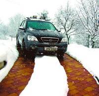 Usuwanie śniegu z podjazdu - kable grzejne
