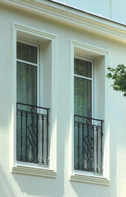 Położenie nowych okien w starej ścianie