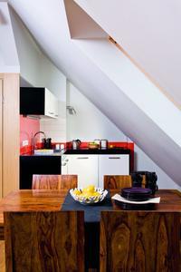 Małe mieszkanie na poddaszu