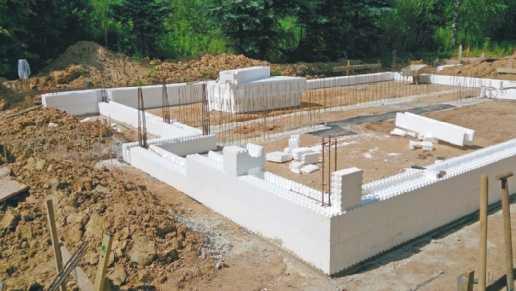 Budowa z pustaków szalunkowych