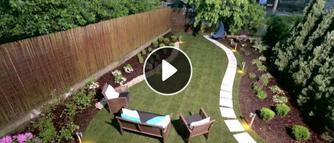 Pomysł na zagospodarowanie przydomowego ogródka. Jak zmienić zwykły trawnik w ogród z charakterem [WIDEO]