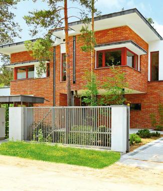 Dom jednorodzinny piętrowy