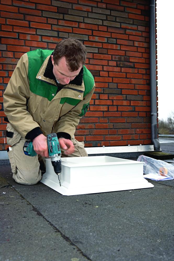Montaż świetlika dachowego