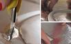 Krok VII - Zaklejanie rurek folią aluminiową