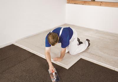 Suchy jastrych na podsypce z keramzytu. Najszybszy sposób na remont podłogi
