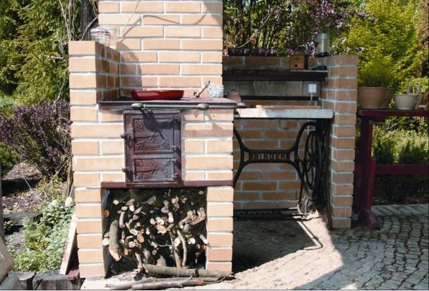 Galeria zdjęć  Altana z letnią kuchnią Zbuduj   -> Kuchnia Letnia Maja W Ogrodzie