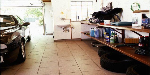 Garaż. Wygodny i funkcjonalny garaż