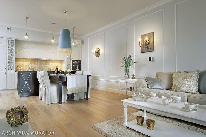 Jak urządzić salon w stylu klasycznym? Jak dobrać kolory, meble, dodatki, by stworzyły harmonijne wnętrze?