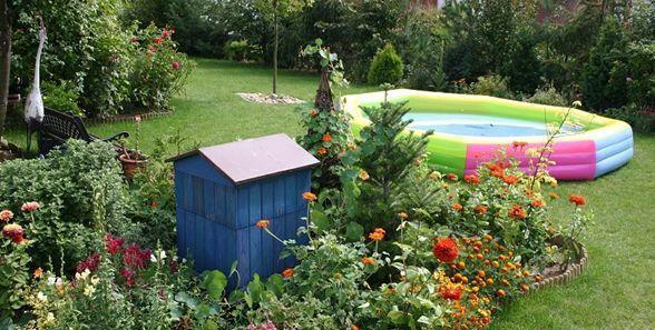 Basen dla dzieci: w ogrodach zdecydowanie królują baseny dmuchane