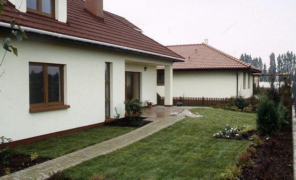 Mały przytulny dom