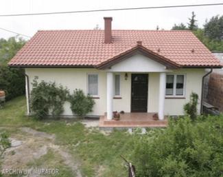 """Dom D06 """"Mały"""" w Zalesiu Dolnym"""